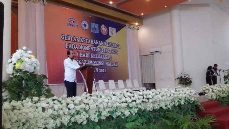 Drs. Djufry Assegaff, Kepala Perwakilan BKKBN Provinsi Maluku