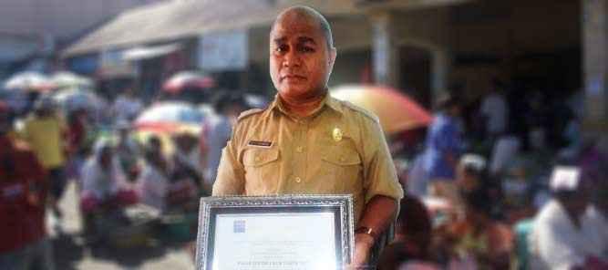Kepala Dinas Perindustrian, Perdagangan dan Tenaga Kerja Kabupaten Seram Bagian Barat (SBB), H. Sy. Silawane