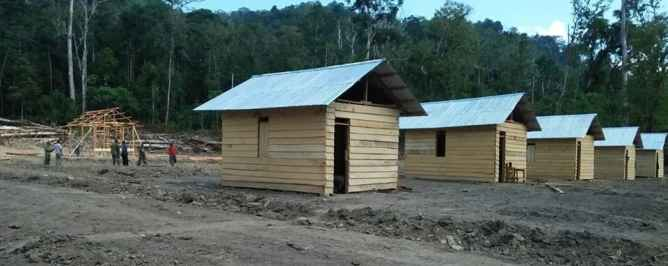 Pembangunan Lima Unit Rumah Singgah Sudah Rampung