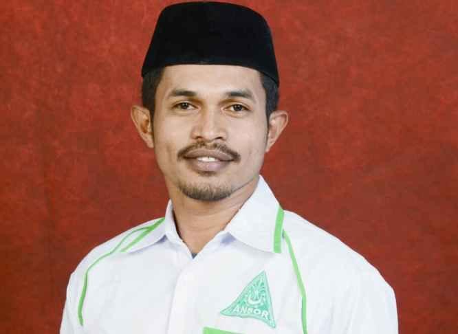 Masyhuri Maswatu, Sekretaris Wilayah (Sekwil) GP Ansor Maluku.