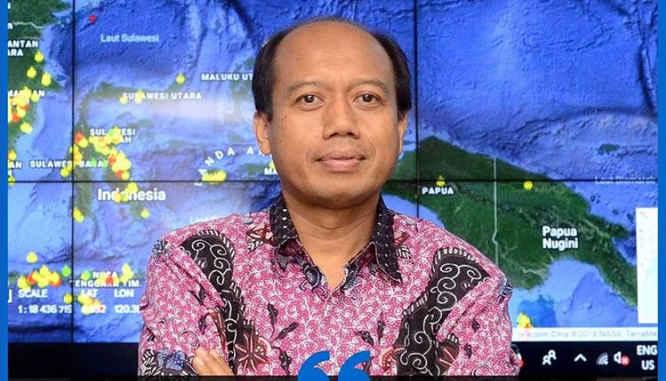 Sutopo Purwo Nugroho, Kepala Pusat Data Informasi dan Humas BNPB.