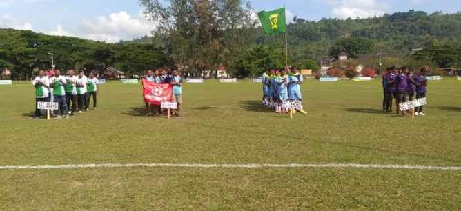 Peserta Turnamen Piala Bupati Cup U-19 .