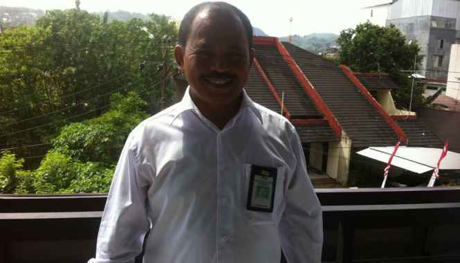 Dadang Karmen, Kepala Pusdiklat PUPR Wilayah VIII Makassar.