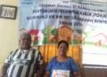Moses Laipeny dan Istrinya Dely Samangun.