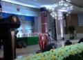 Sartono Pinning, SH Mewakili Gubernur Maluku Ir. Said Assagaff Menutup Lomba Vokalis Gambus Tingkat Provinsi Maluku.