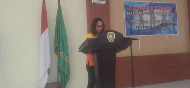 Marline Gabriel Pattiasina, Ketua IKAIS-IKAJUM.