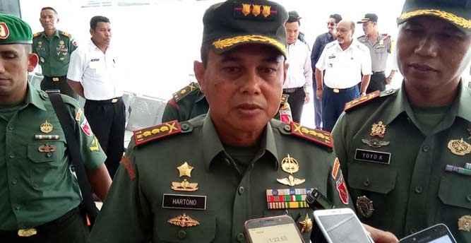 Danrem 151/Binaiya, Kolonel Inf Hartono S.IP
