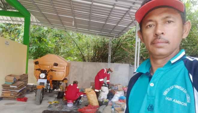 Asri Heni Pranoto, Ketua KSM Imam Rizali, Kampus IAIN Ambon.