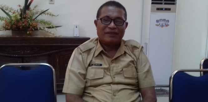Kepala Bidang Keamanan Pangan Dinas Ketahanan Pangan Prov. Maluku Ir. Rudy Huwae, M.Si.