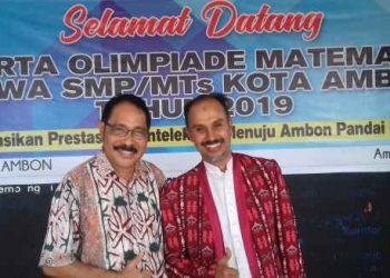 Ketua MKKS Kota Ambon Drs. Jan Mahulette, M.MPd.