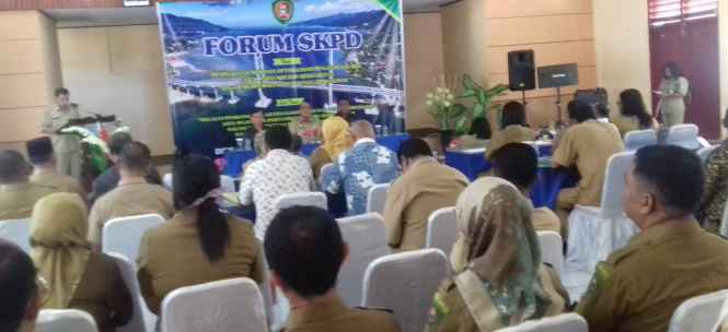 Suasana Rapat Forum SKPD.
