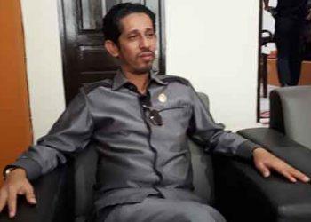 Ketua DPRD Kota Tual Taufik Hamud
