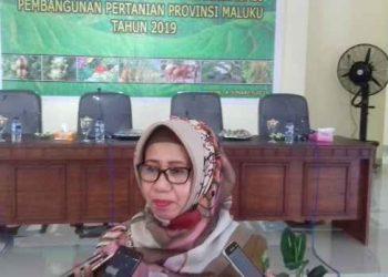 Kepala Dinas Pertanian Provinsi Maluku, Ir. Diana Padang, M.Si.