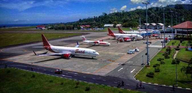 Penumpang Di Bandara Pattimura Ambon Turun 34 Persen Tribun Maluku Berita Maluku Terkini