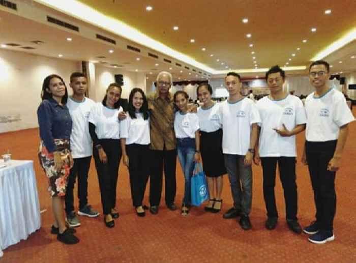 Pengurus Koalisi Muda Kependudukan Provinsi Maluku.