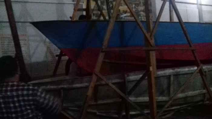 Produk Kapal Ikan Long Boat Hasil Pelatihan Kelompok Nelayan Desa Lehari Di Unpatti.