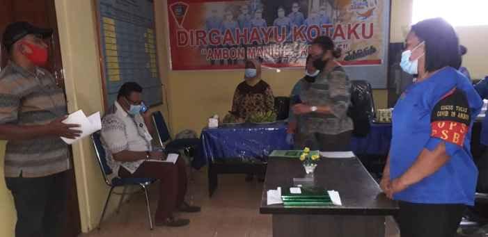 Kelurahan Nusaniwe Bersaing Ketat Dalam Lomba Desa Kelurahan Aman Covid 19